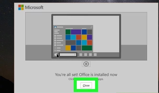 How to install MS Office