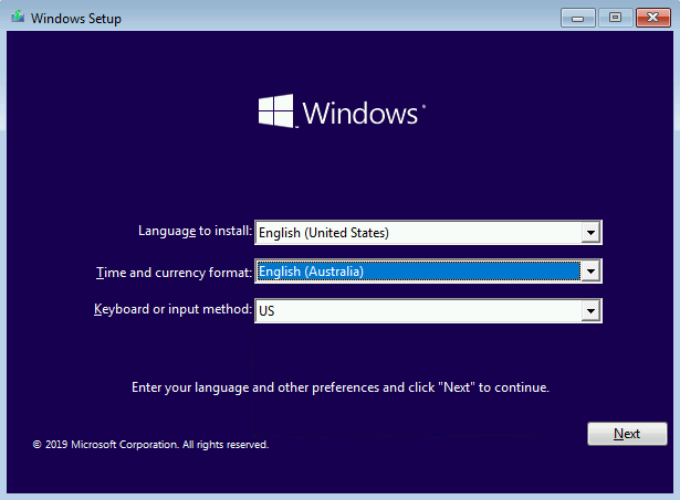 Windows Install Figure 2