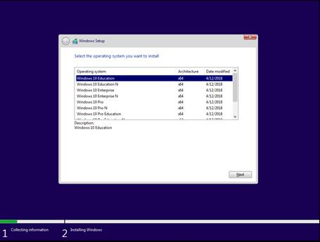 Windows Setup 2